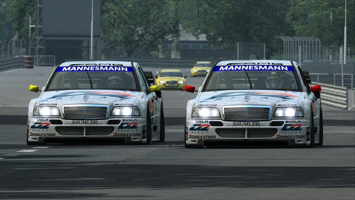 RaceRoom AMG-Mercedes C-Klasse DTM 1995 3