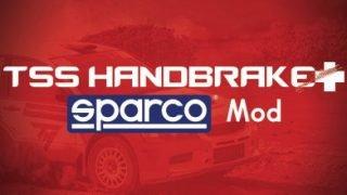 Thrustmaster TSS Handbrake+ Sparco Mod+ Logo