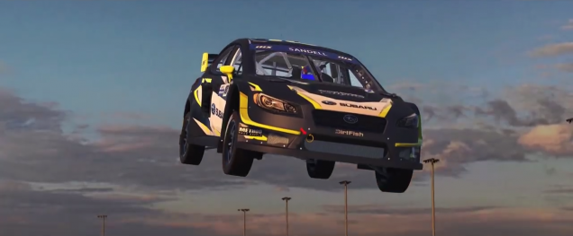 iRacing Subaru WRX STI VT17x Rallycross Supercar trailer screenshot 1