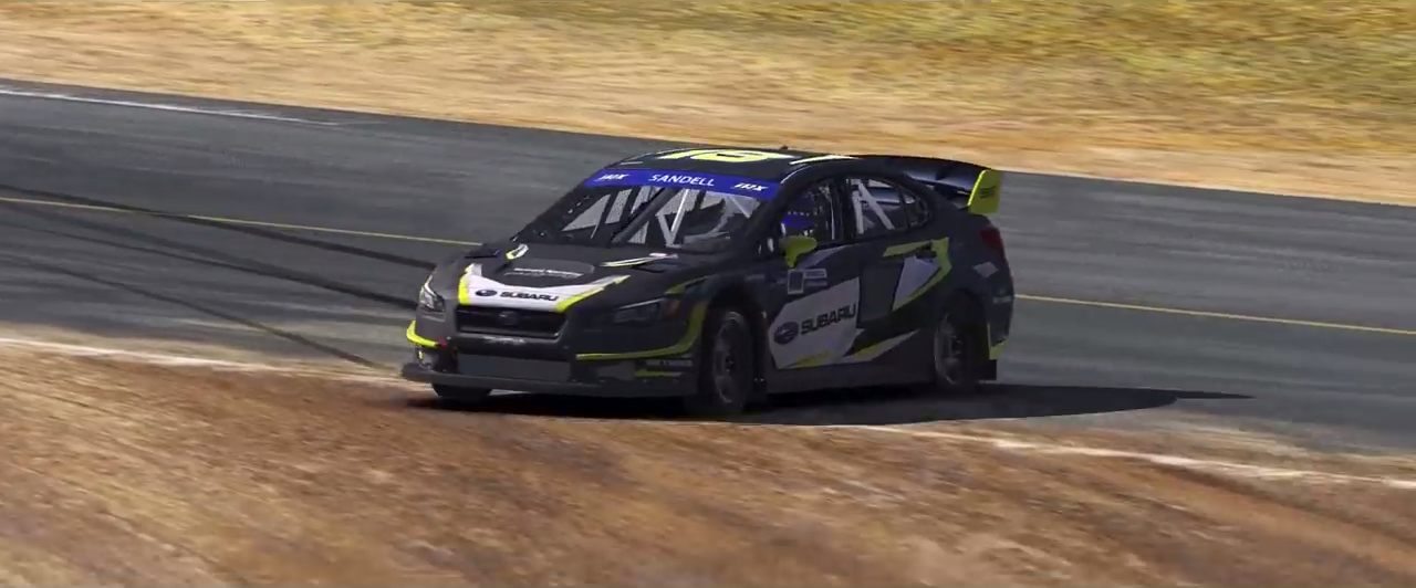 iRacing Subaru WRX STI VT17x Rallycross Supercar trailer screenshot 2
