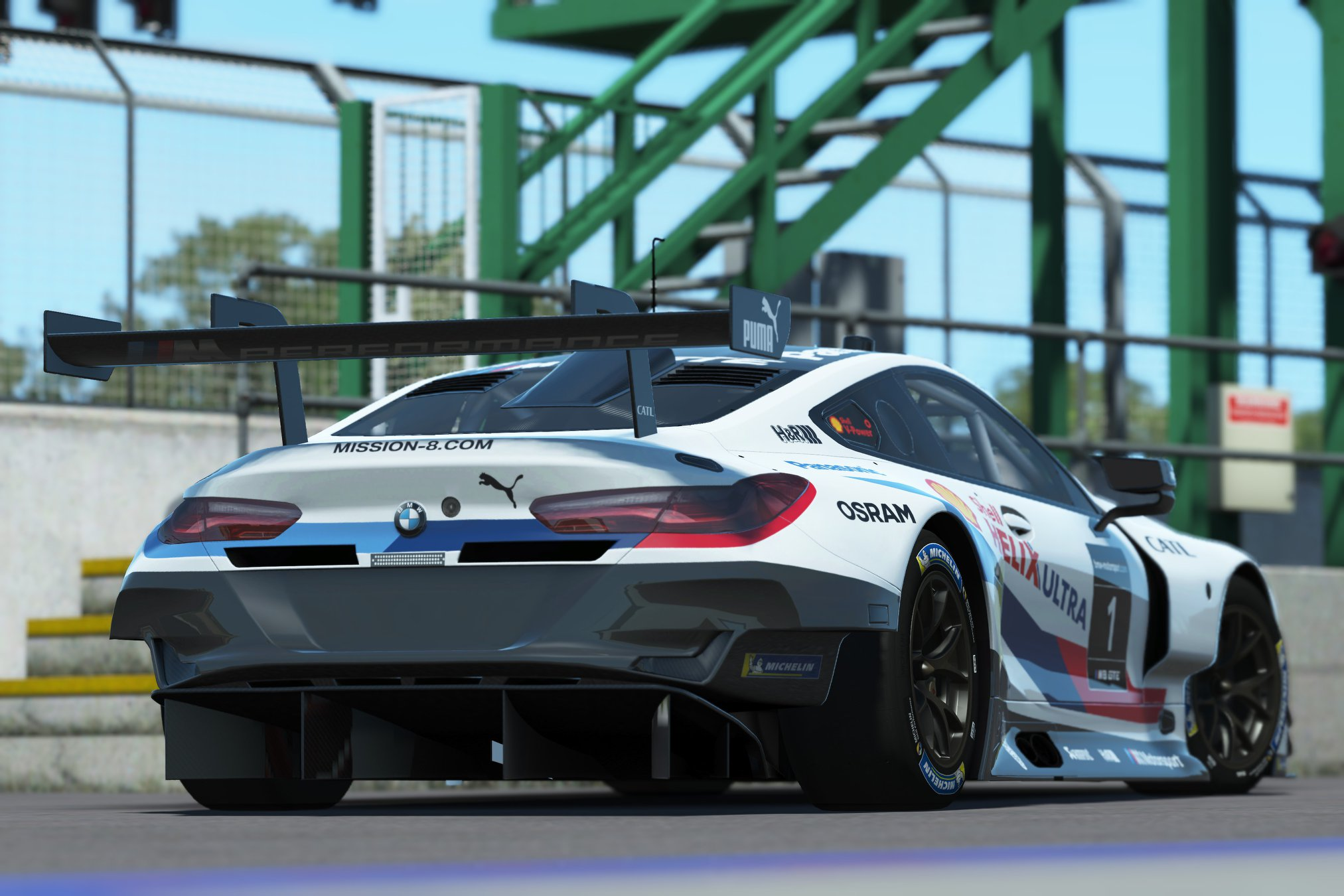 rFactor 2 Endurance Pack BMW M8 GTE preview 1