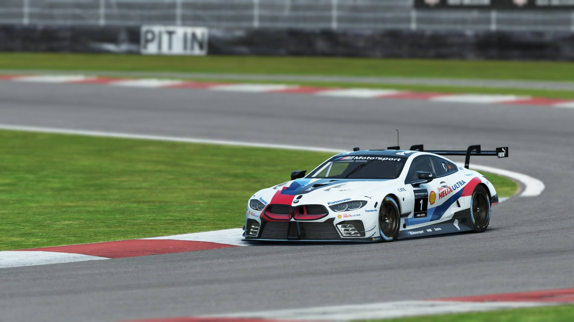 rFactor 2 Endurance Pack BMW M8 GTE preview 4