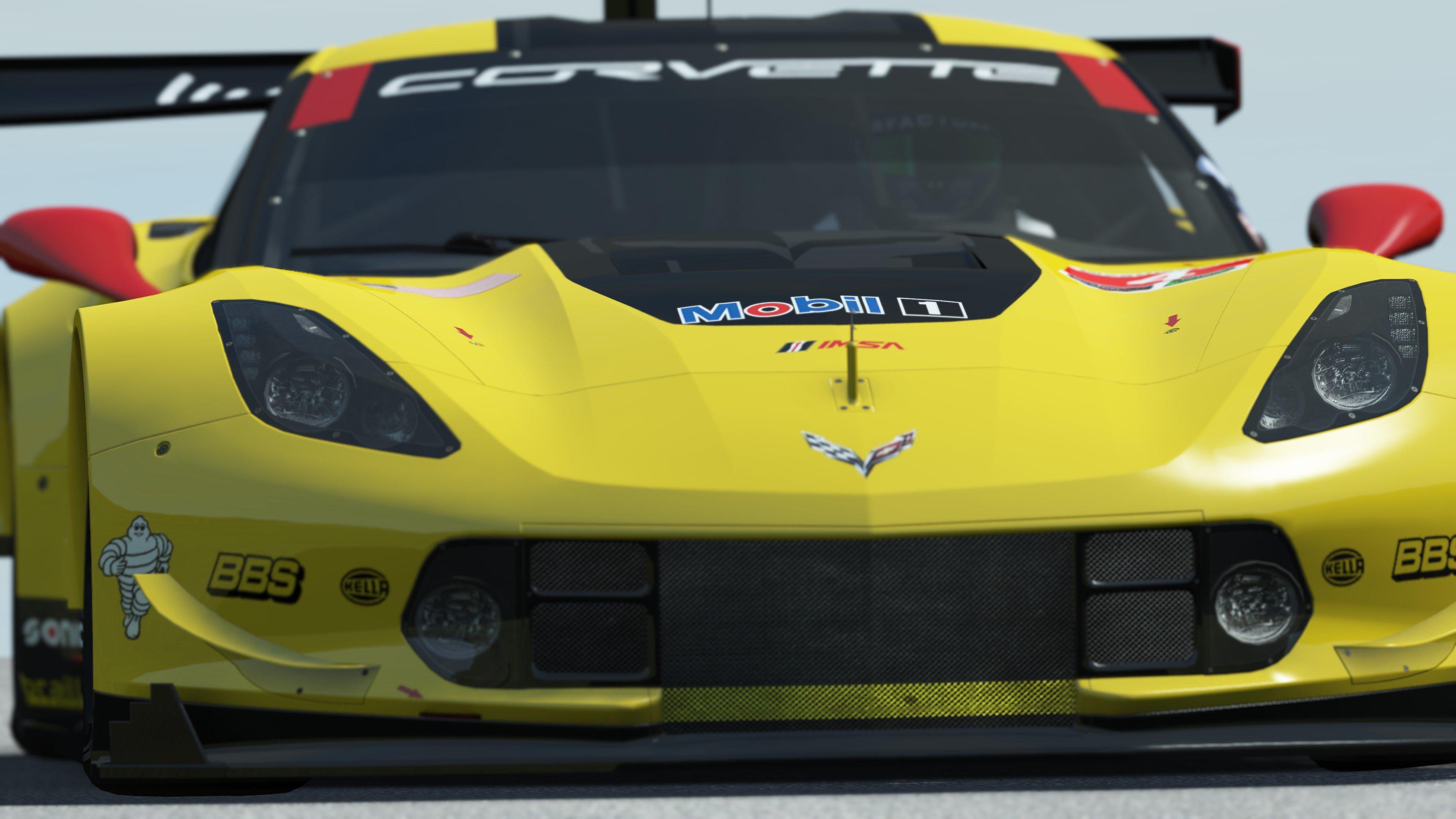 rFactor 2 Endurance Pack release Corvette C7.R