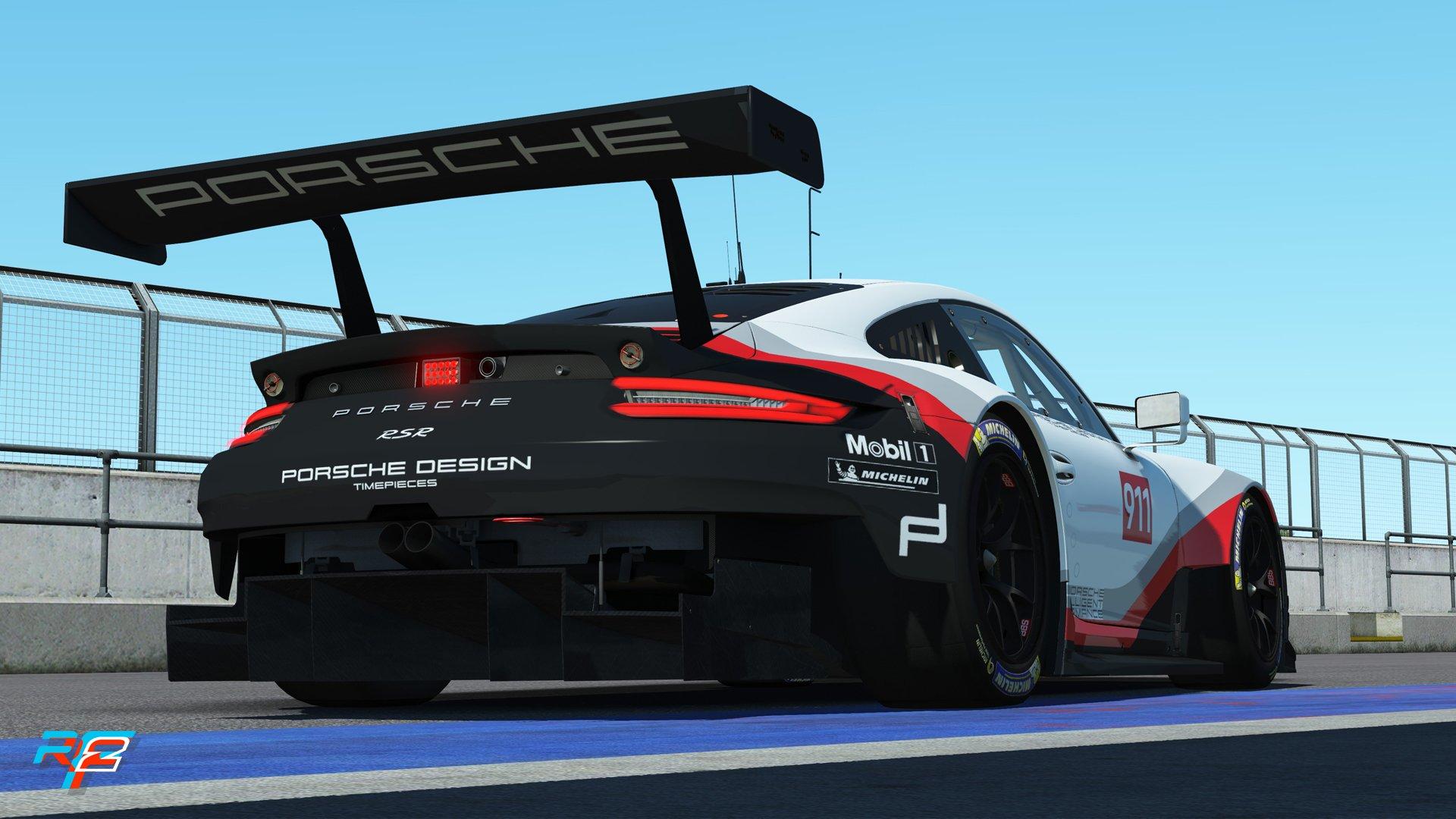 rFactor 2 May roadmap update Porsche 911 RSR GTE preview 1