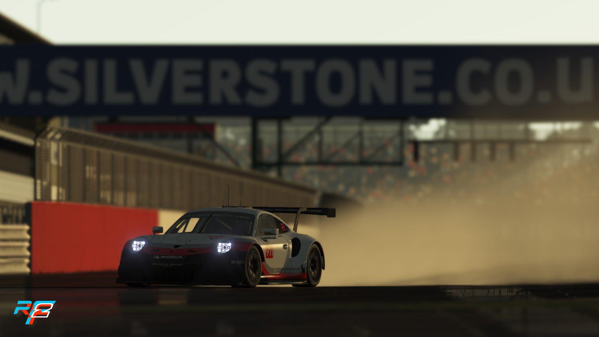 rFactor 2 May roadmap update Porsche 911 RSR GTE preview 2