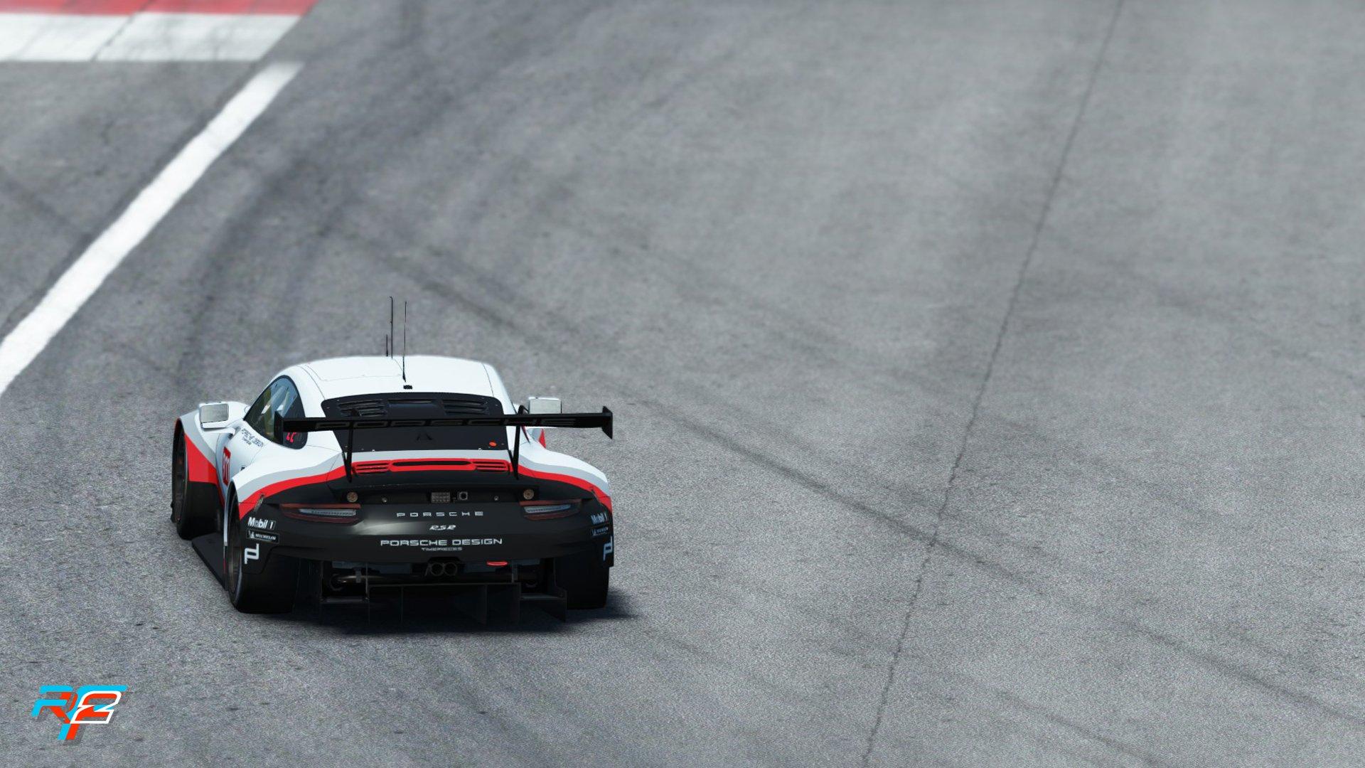 rFactor 2 May roadmap update Porsche 911 RSR GTE preview 3