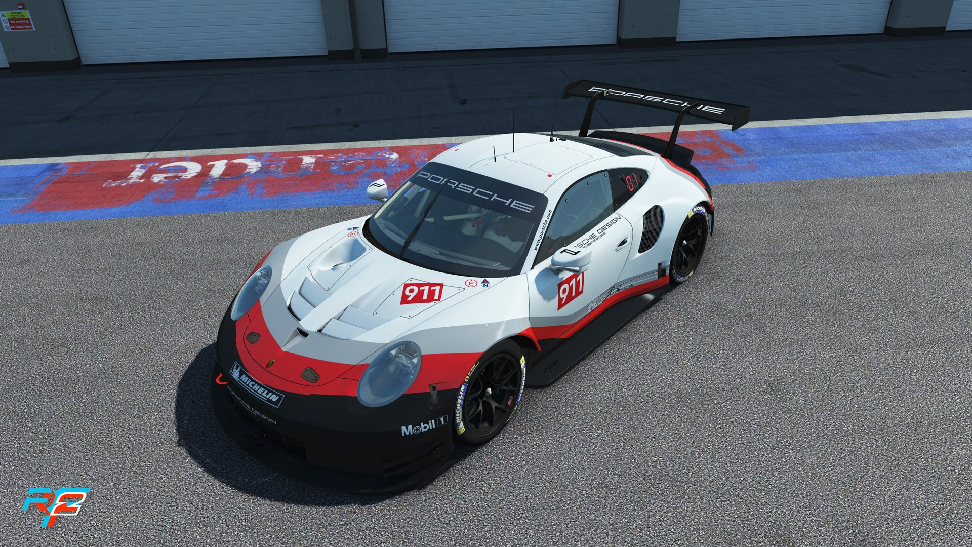 rFactor 2 May roadmap update Porsche 911 RSR GTE preview 5