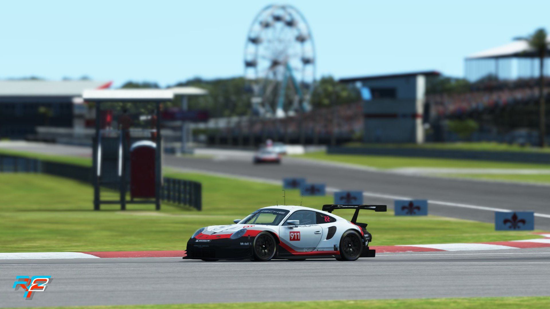 rFactor 2 May roadmap update Porsche 911 RSR GTE preview 6