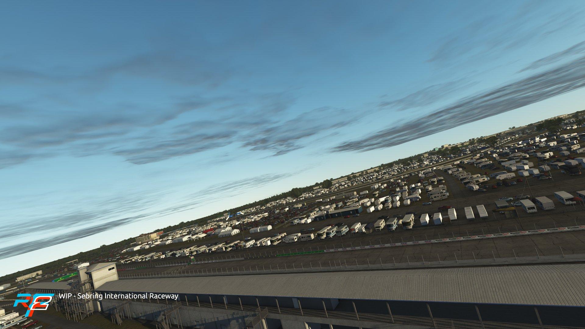 rFactor 2 May roadmap update Sebring preview 2