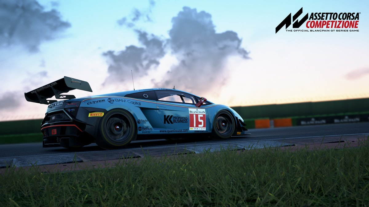 Assetto Corsa Competizione Release Date announcement preview 4