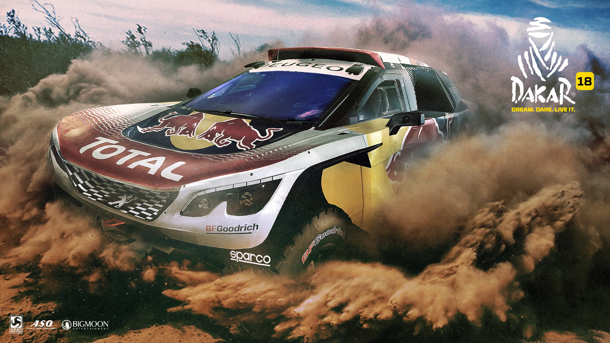 Dakar 18 wallpaper 3