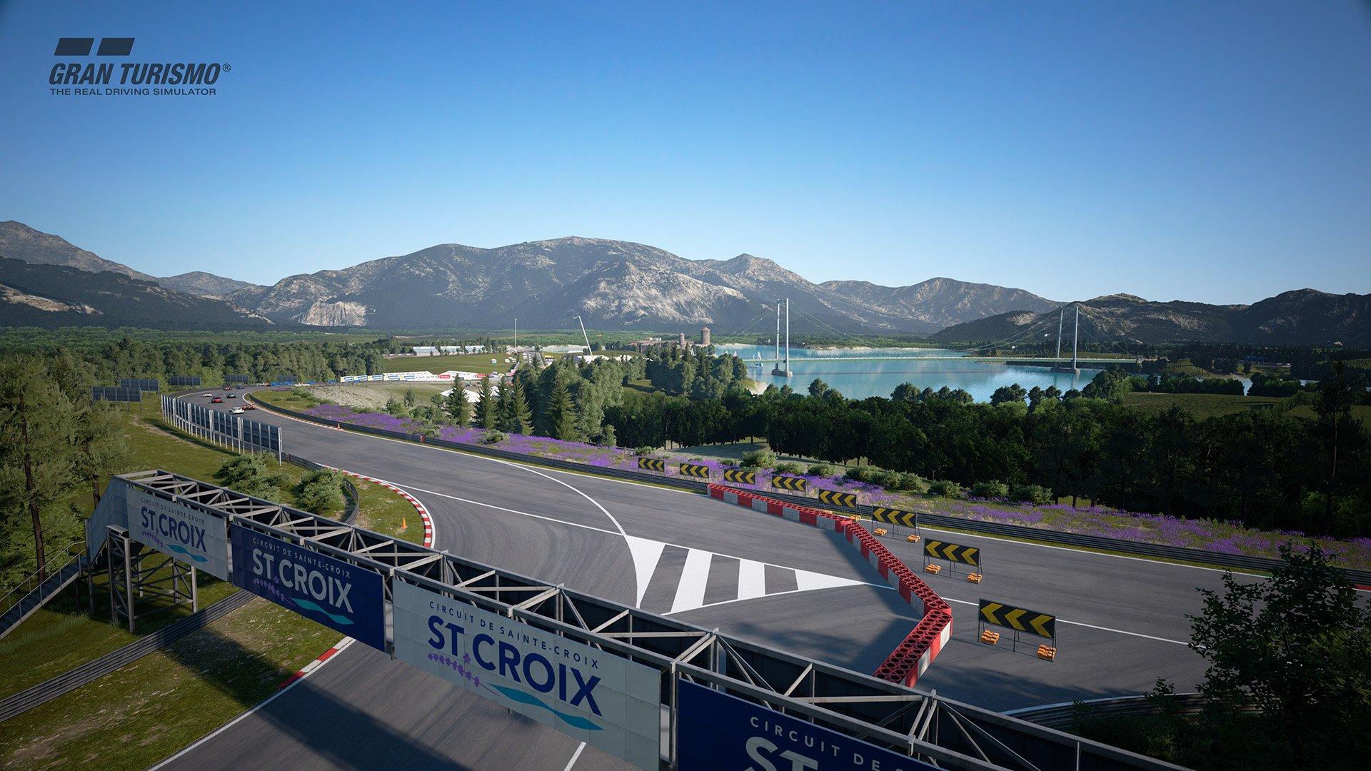 Gran Turismo Sport July update 'Circuit de Sainte-Croix' (A:B:C) 1