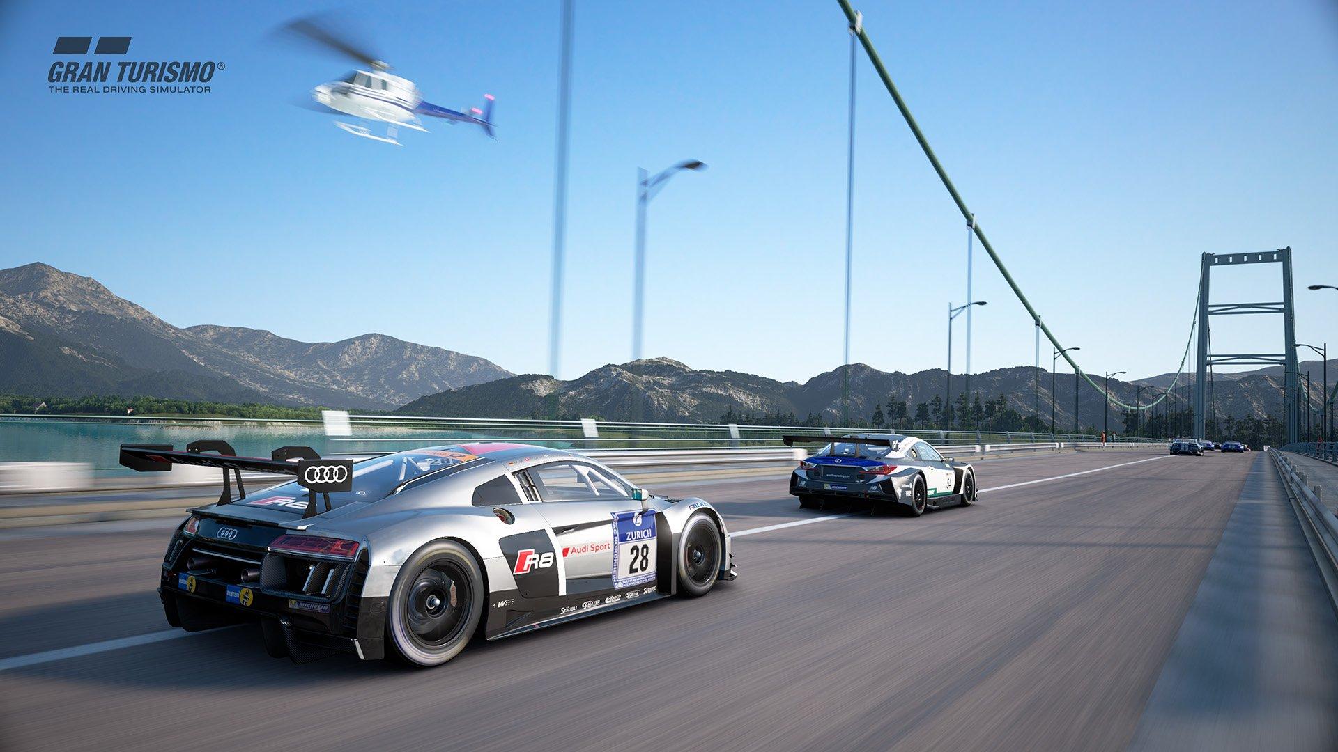 Gran Turismo Sport July update 'Circuit de Sainte-Croix' (A:B:C) 2