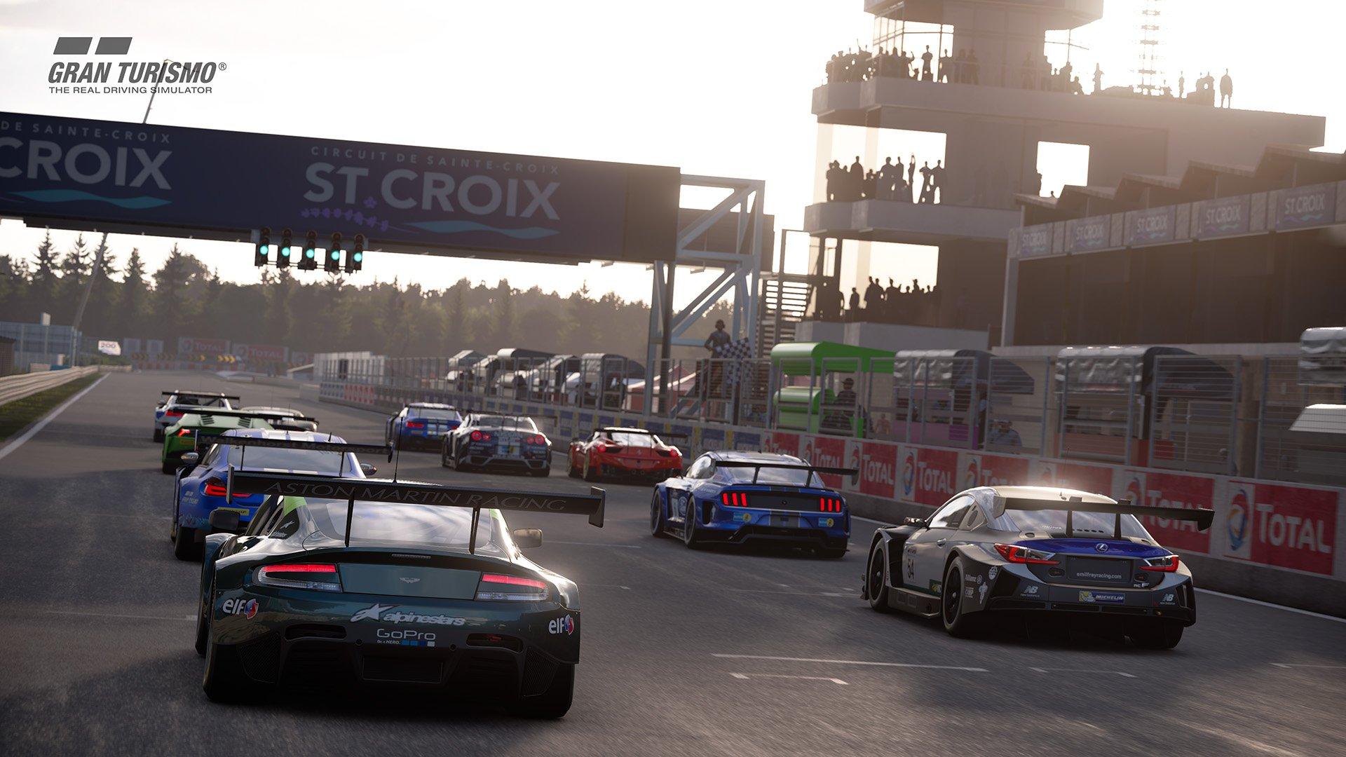 Gran Turismo Sport July update 'Circuit de Sainte-Croix' (A:B:C) 3
