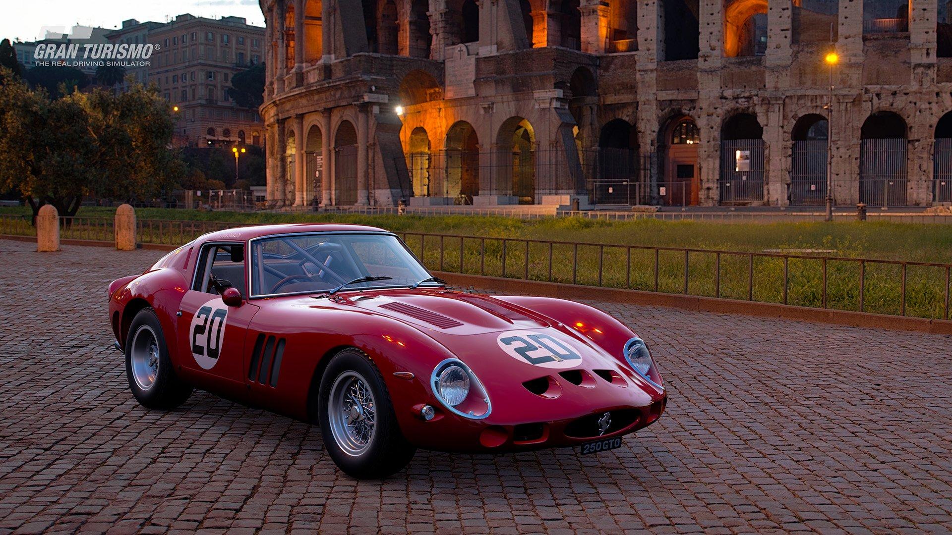 Gran Turismo Sport July update Ferrari 250 GTO CN.3729GT '62 (Gr.X) 2