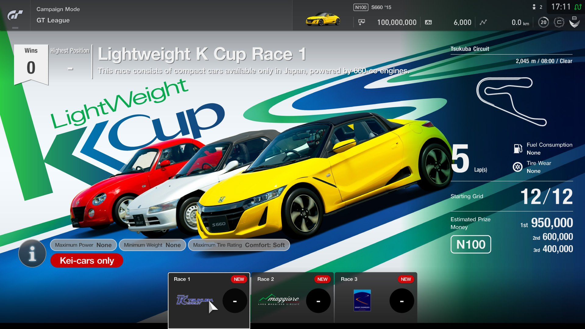 Gran Turismo Sport July update GT League 1