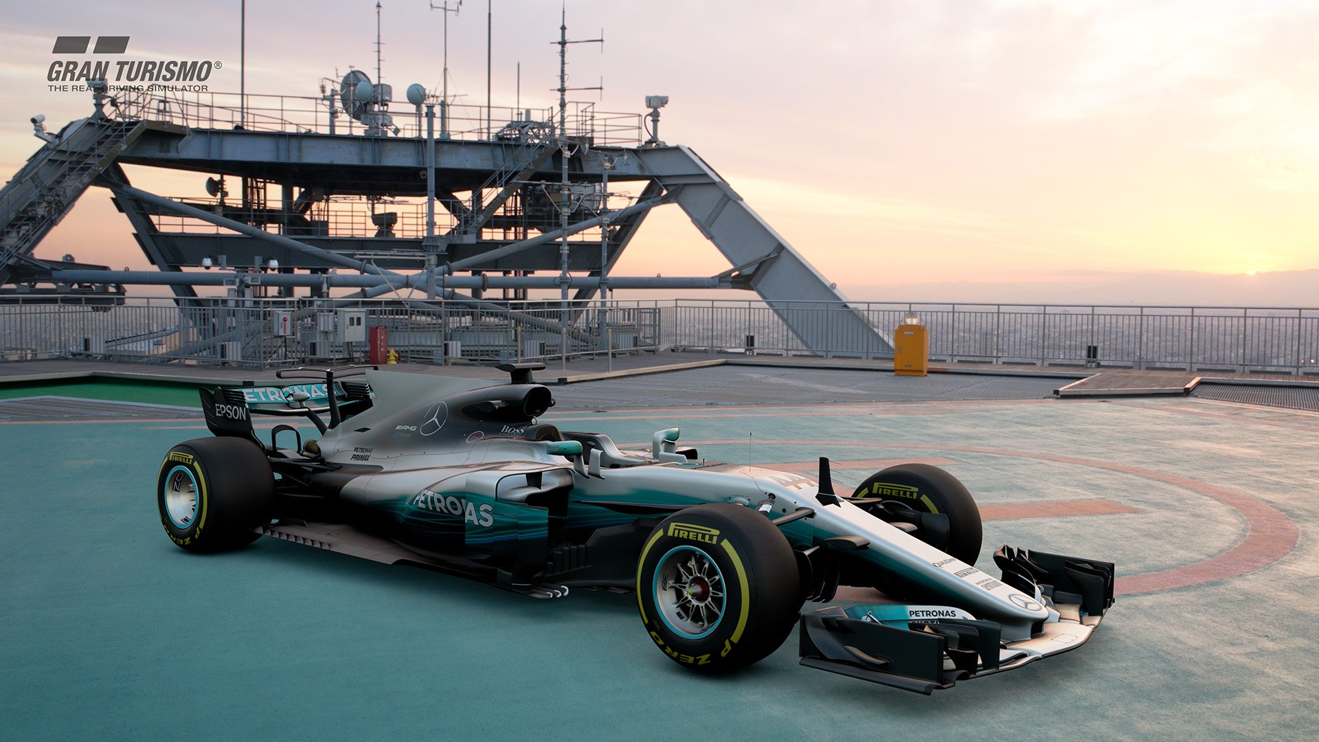 Gran Turismo Sport July update Mercedes AMG F1 W08 EQ Power+ 2017 (Gr.X) 2