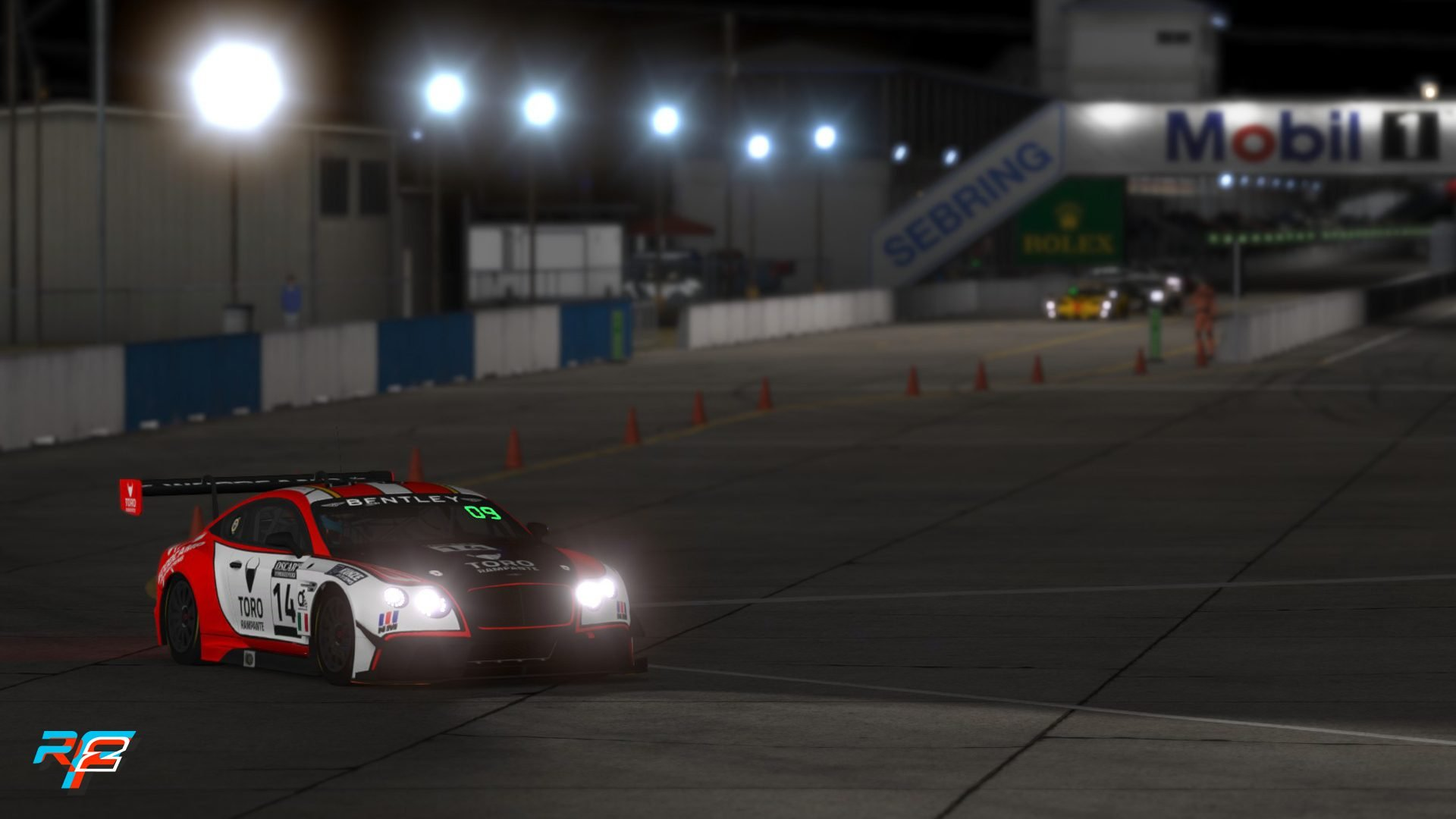 rFactor 2 July roadmap GT3 pack Sebring 3