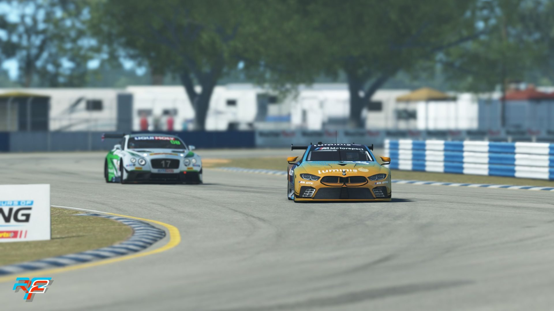 rFactor 2 July roadmap GT3 pack Sebring 4