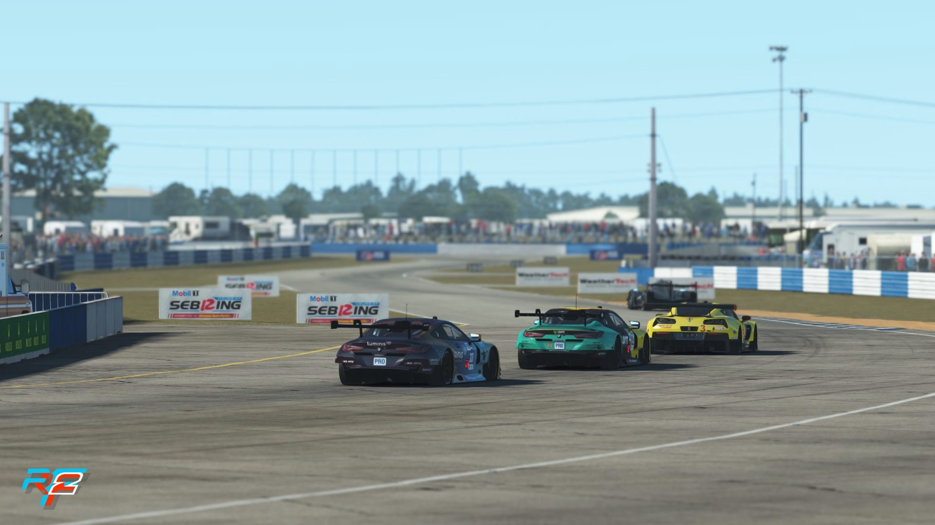 rFactor 2 July roadmap GT3 pack Sebring 5