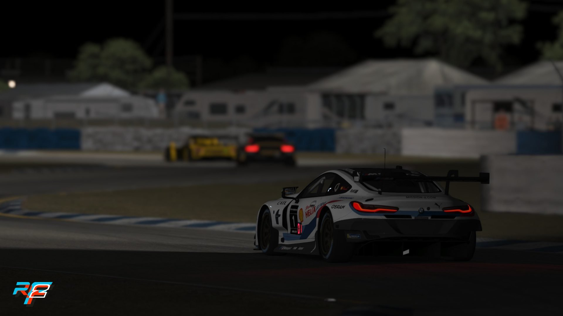rFactor 2 July roadmap GT3 pack Sebring 6