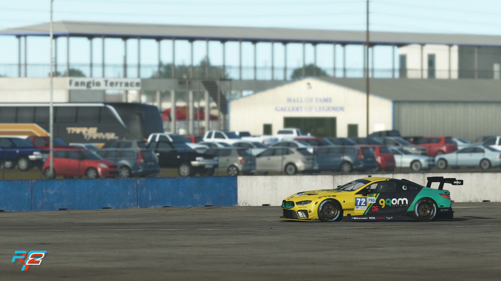 rFactor 2 July roadmap GT3 pack Sebring 7