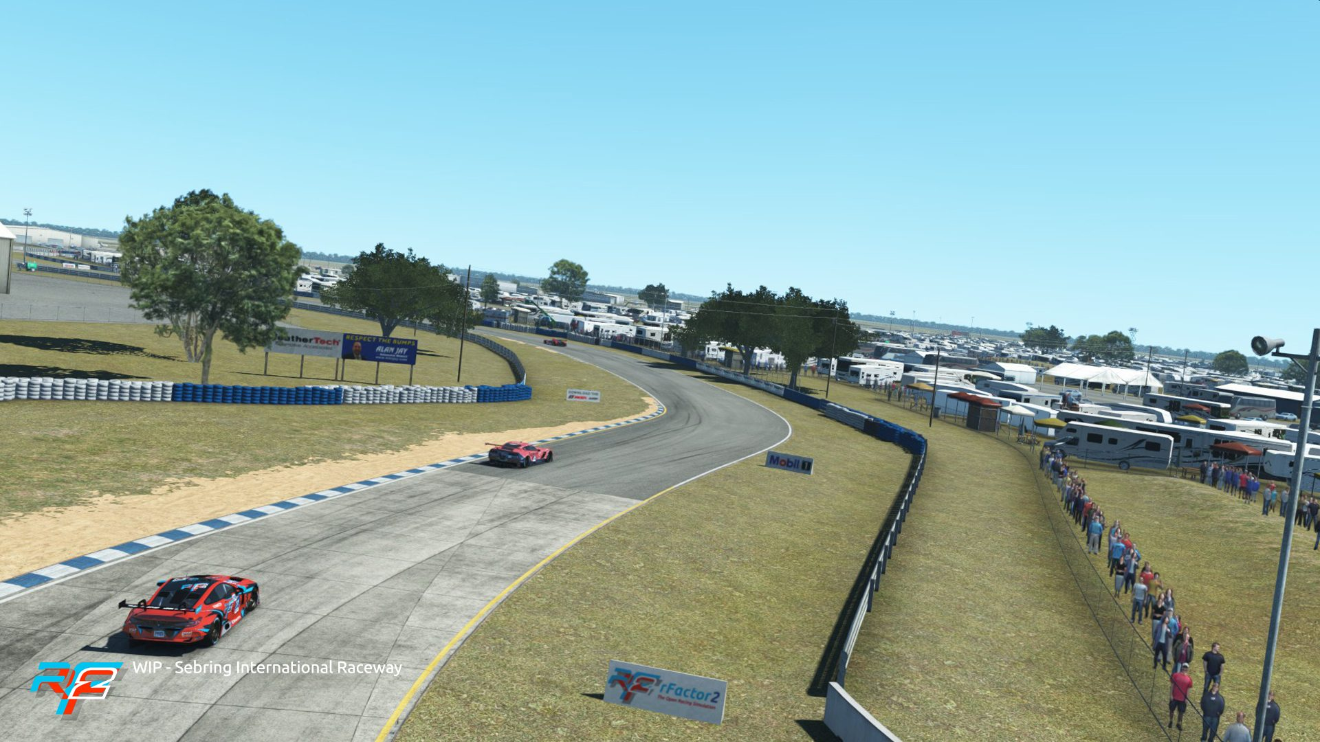 rFactor 2 June roadmap udpate Sebring 2