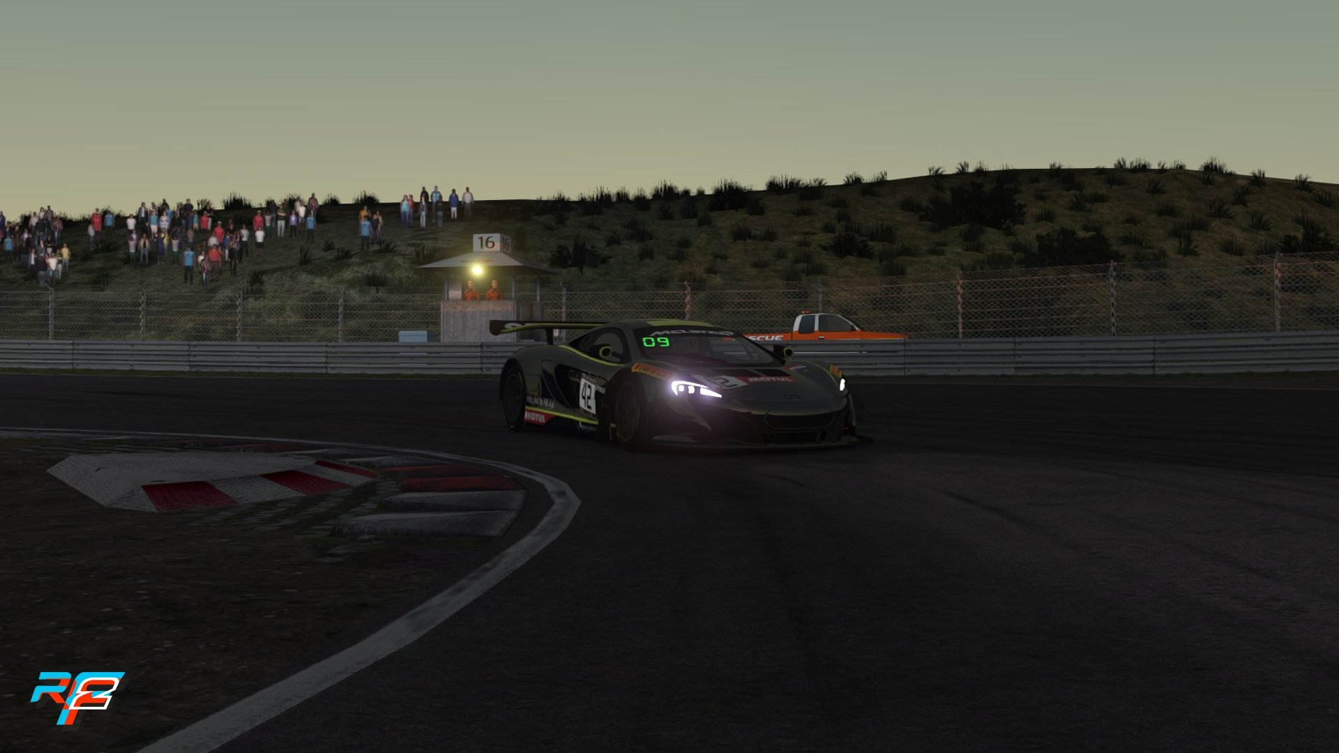 rFactor 2 June roadmap udpate Zandvoort night 1