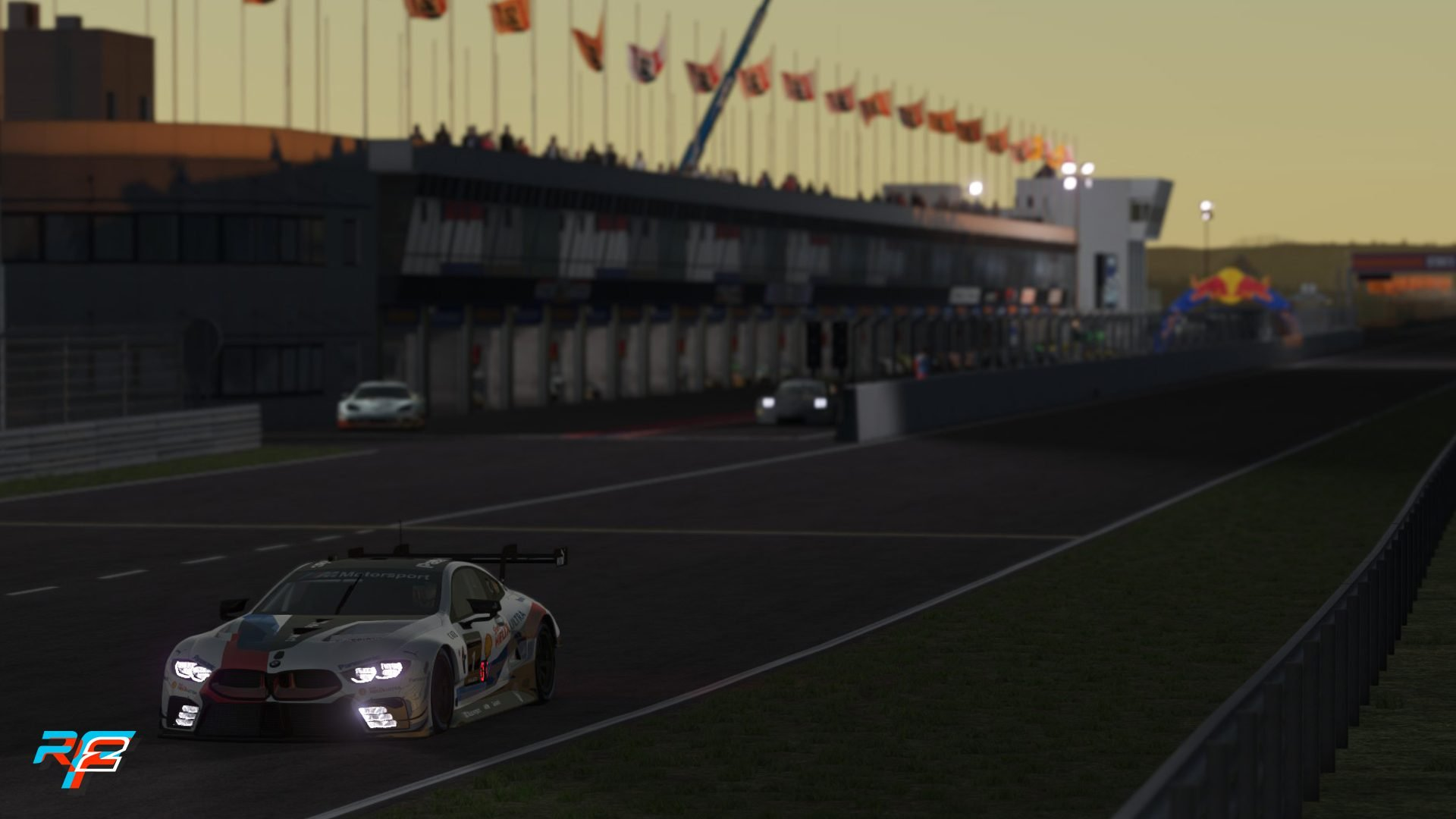 rFactor 2 June roadmap udpate Zandvoort night 2