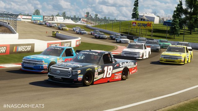 NASCAR Heat 3 NCWTS preview 1
