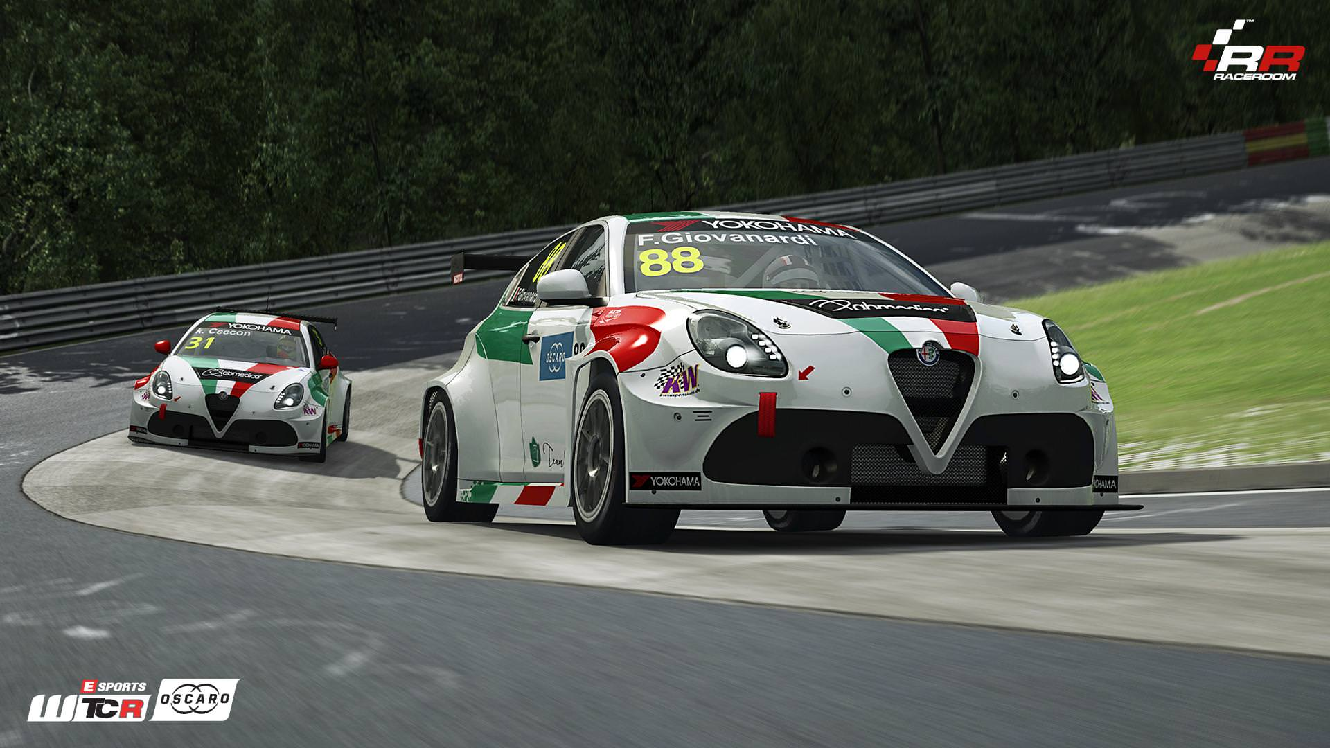 RaceRoom Alfa Romeo Giulietta TCR preview 3