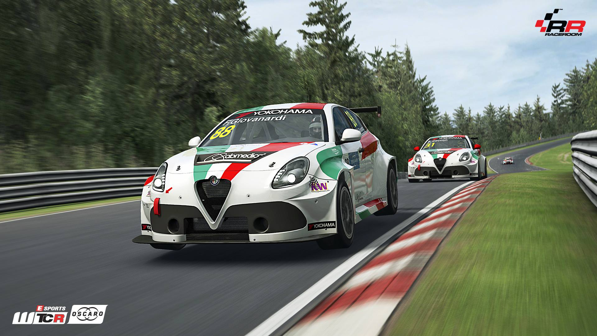 RaceRoom Alfa Romeo Giulietta TCR preview 4