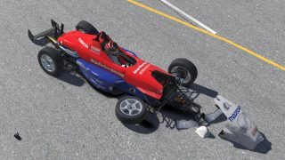 iRacing road to new damage broken car