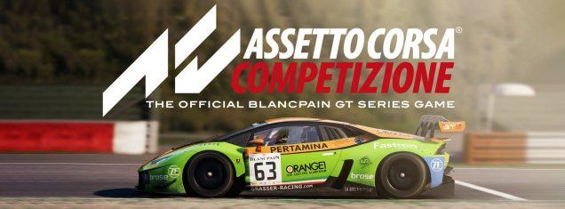 Assetto Corsa Competizione Build 1 Release Banner