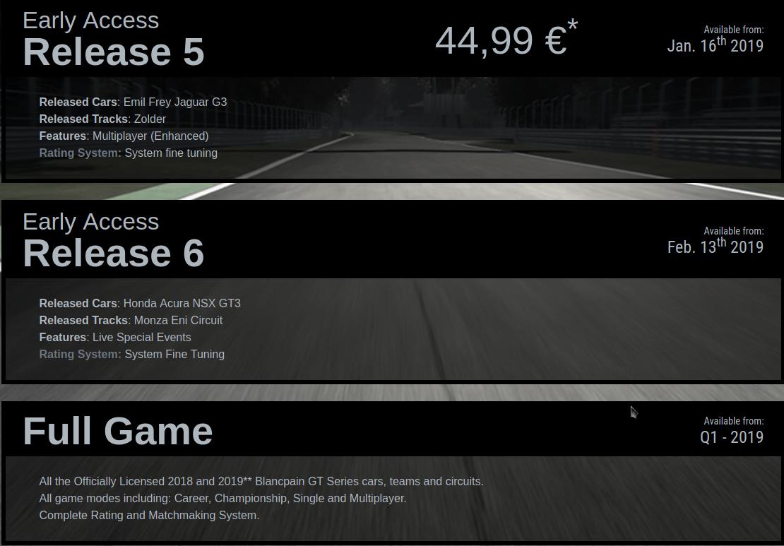 Assetto Corsa Competizione Pricing 3