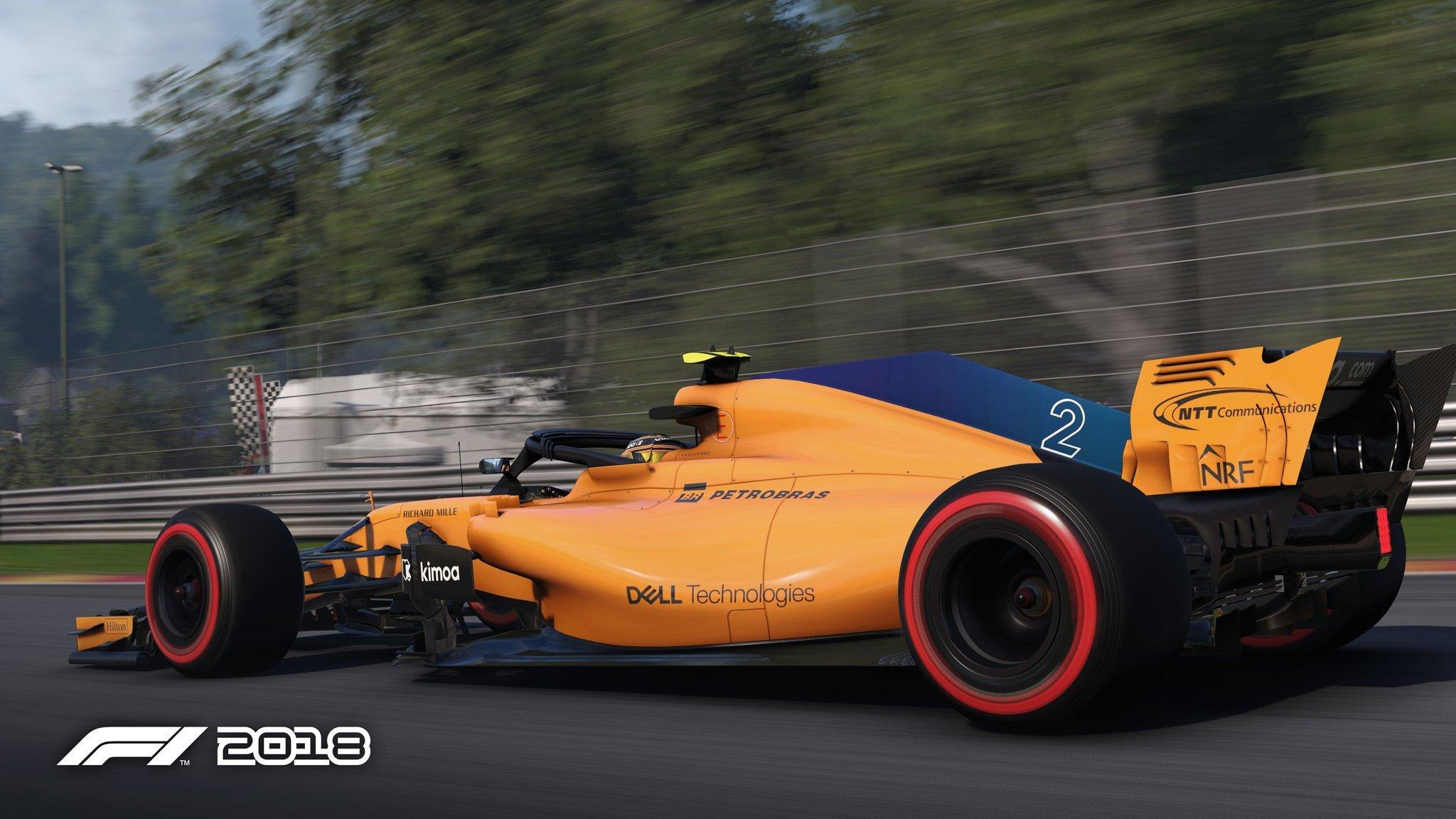 F1 2018 updates 1
