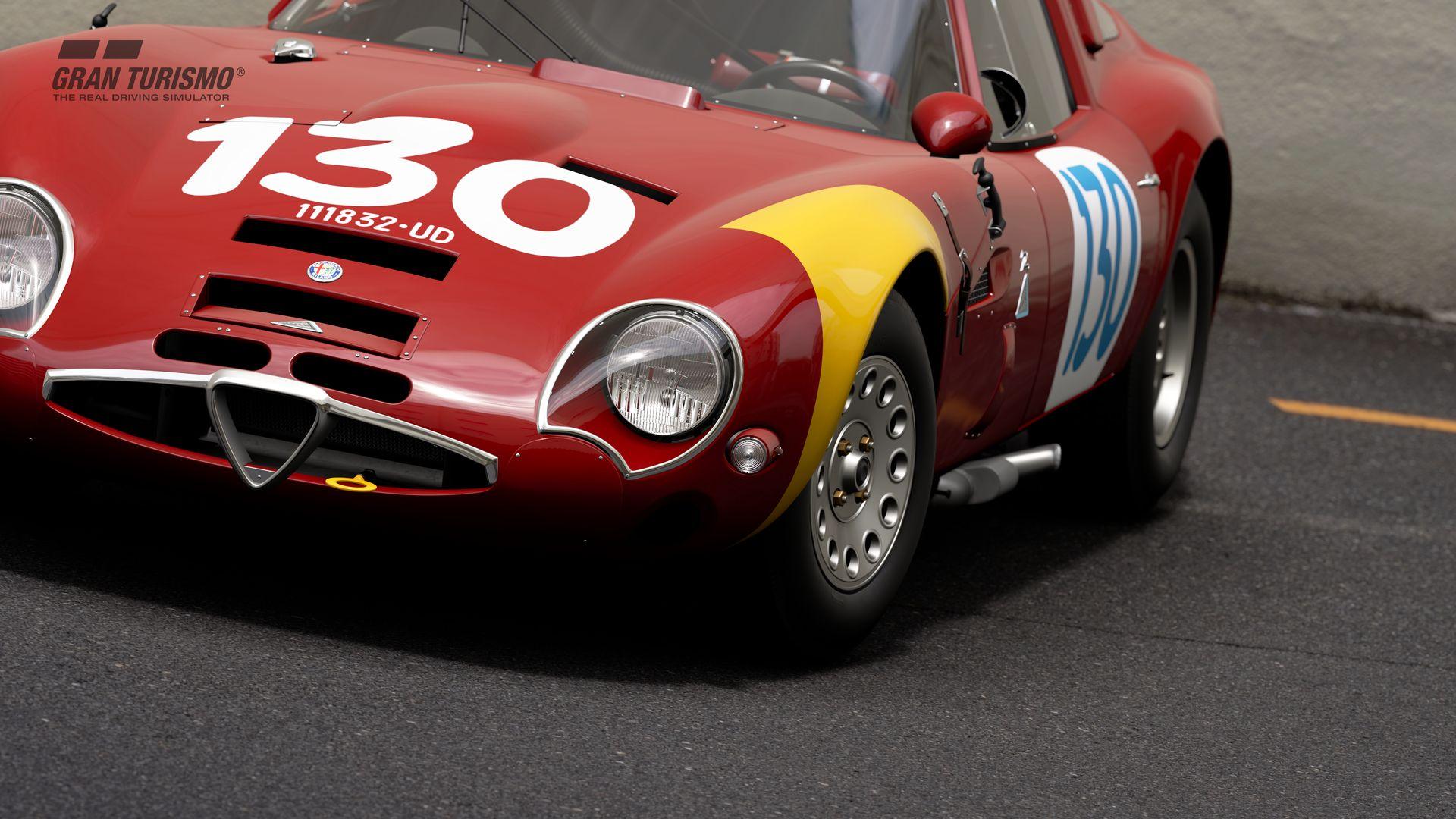 Gran Turismo Sport September Update Alfa Romeo GIULIA TZ2 carrozzata da ZAGATO CN.AR750106 65 (Gr.X) 1