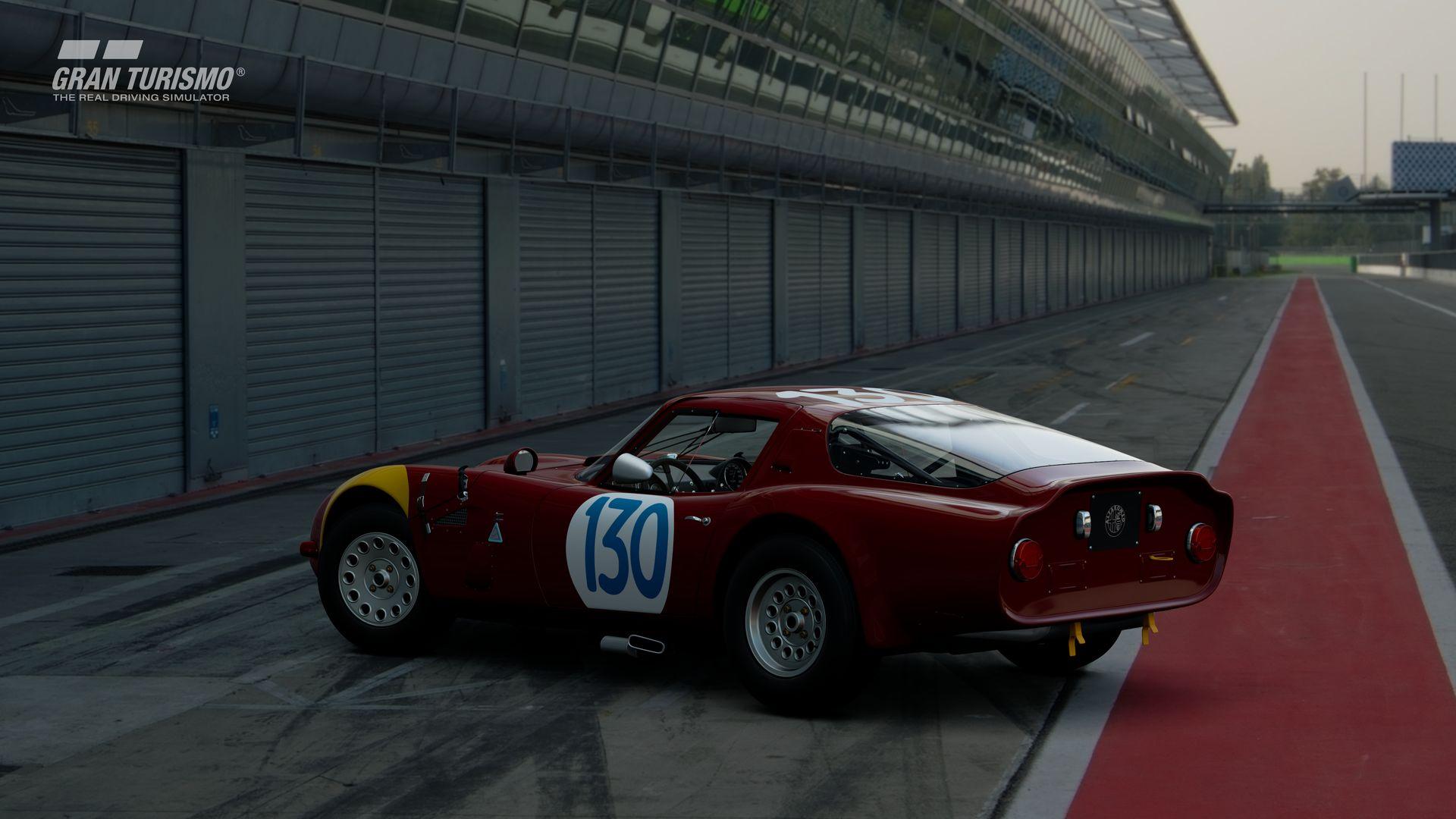 Gran Turismo Sport September Update Alfa Romeo GIULIA TZ2 carrozzata da ZAGATO CN.AR750106 65 (Gr.X) 2