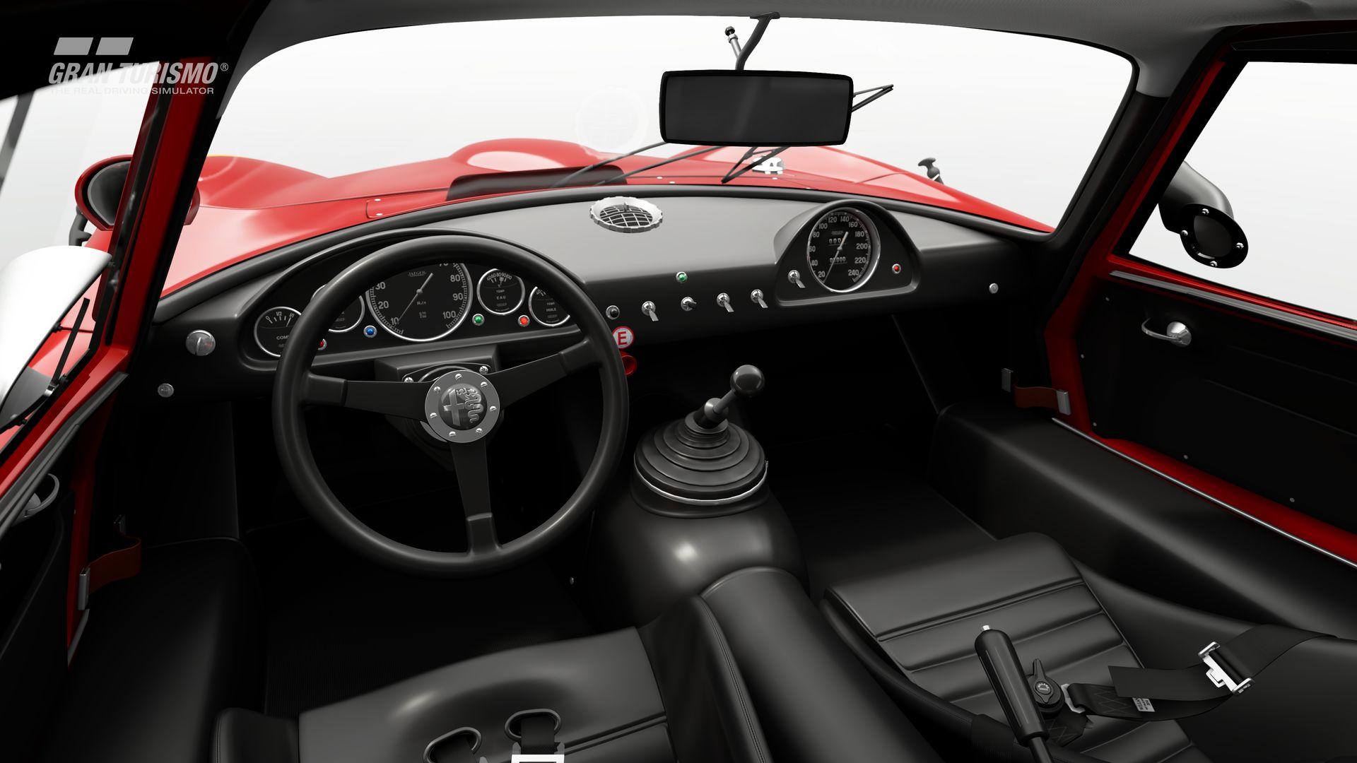 Gran Turismo Sport September Update Alfa Romeo GIULIA TZ2 carrozzata da ZAGATO CN.AR750106 65 (Gr.X) 3