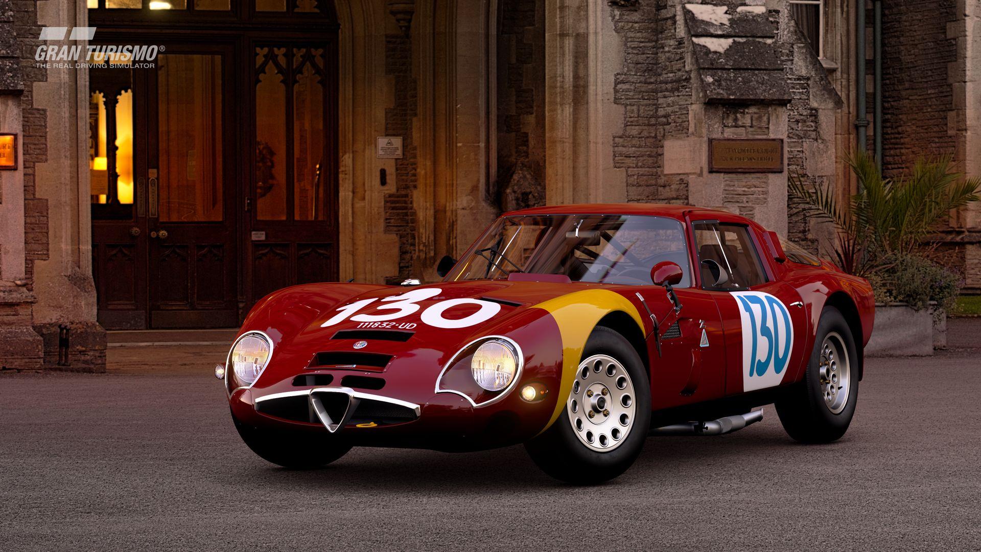 Gran Turismo Sport September Update Alfa Romeo GIULIA TZ2 carrozzata da ZAGATO CN.AR750106 65 (Gr.X) 4