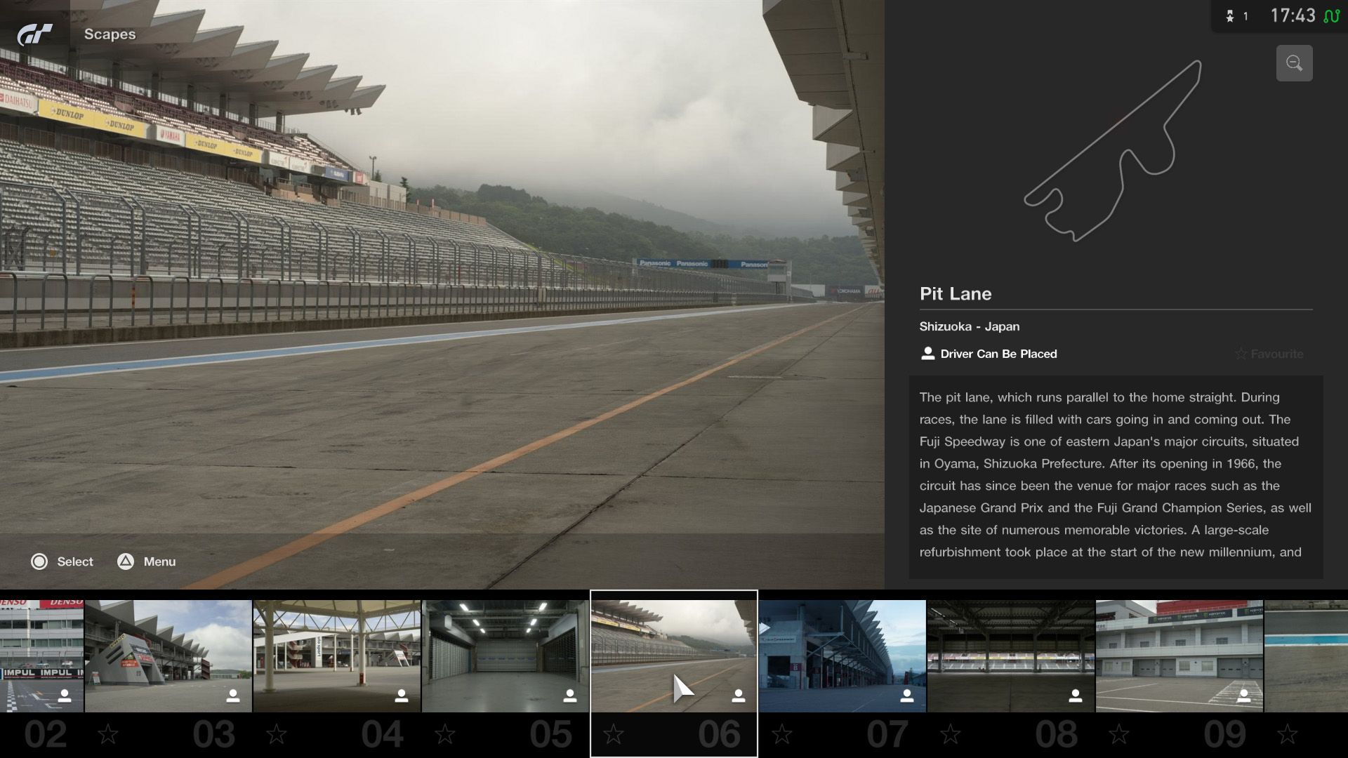 Gran Turismo Sport September Update Fuji International Speedway Scapes 1