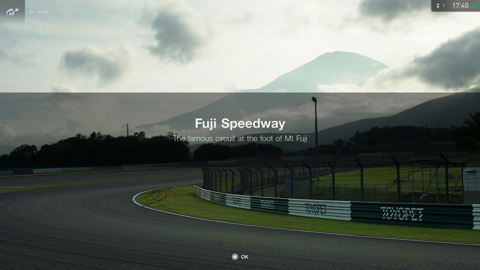 Gran Turismo Sport September Update Fuji International Speedway Scapes 2