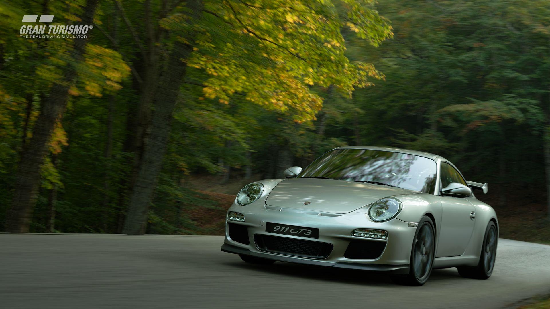 Gran Turismo Sport September Update Porsche 911 GT3 (997) '08 (N400) 2