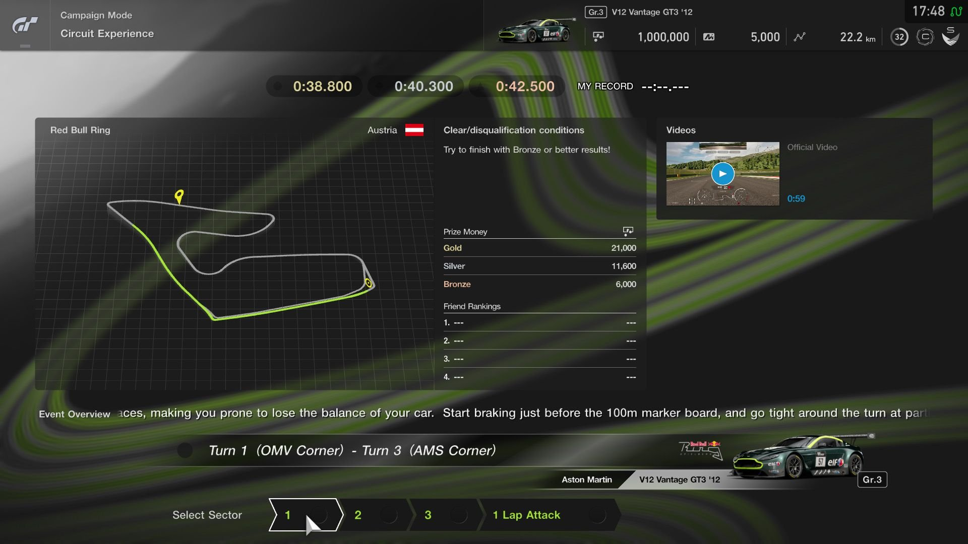 Gran Turismo Sport September Update Red Bull Ring Circuit Experience