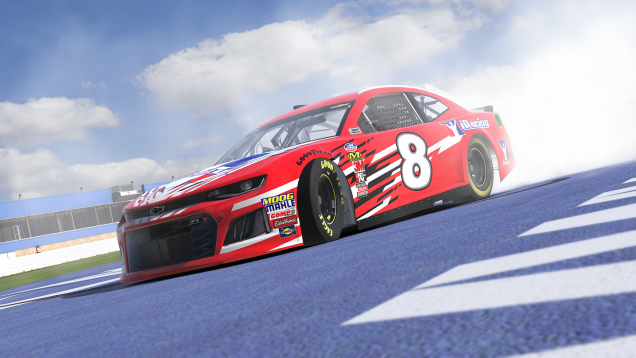 iRacing NASCAR Monster Energy Cup Chevrolet Camaro ZL1 1