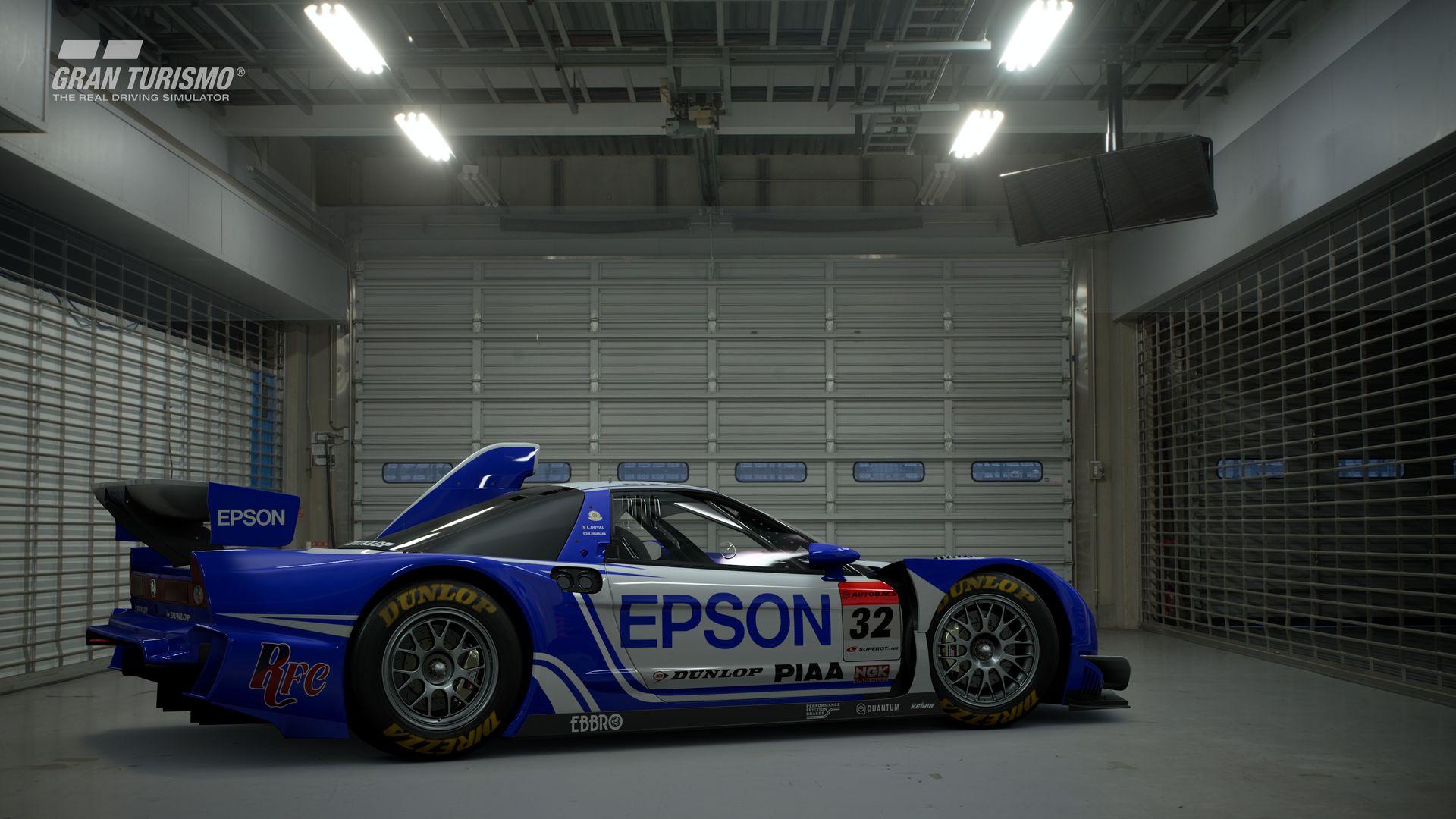Gran Turismo Sport November Update Honda EPSON NSX '08 (Gr.2) 2