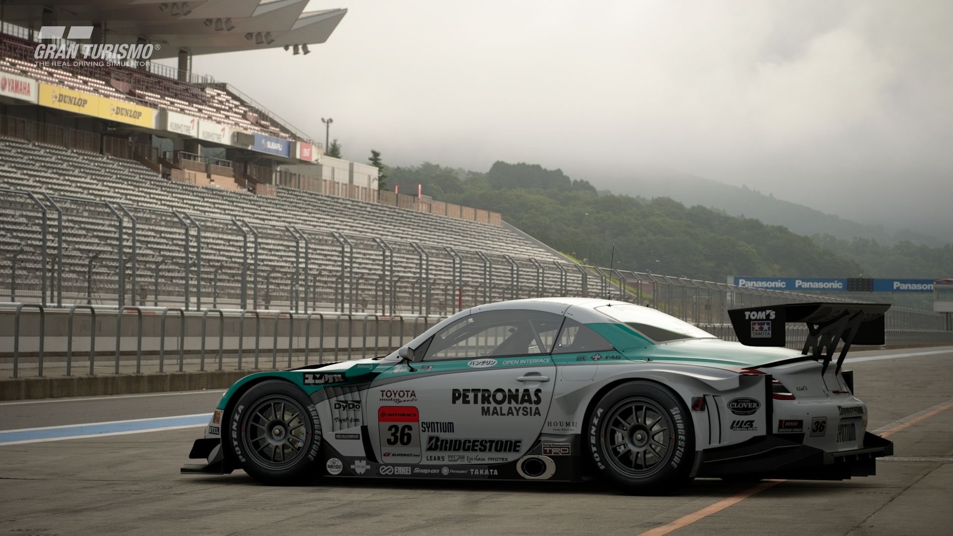 Gran Turismo Sport November Update Lexus PETRONAS TOM'S SC430 '08 (Gr.2) 2