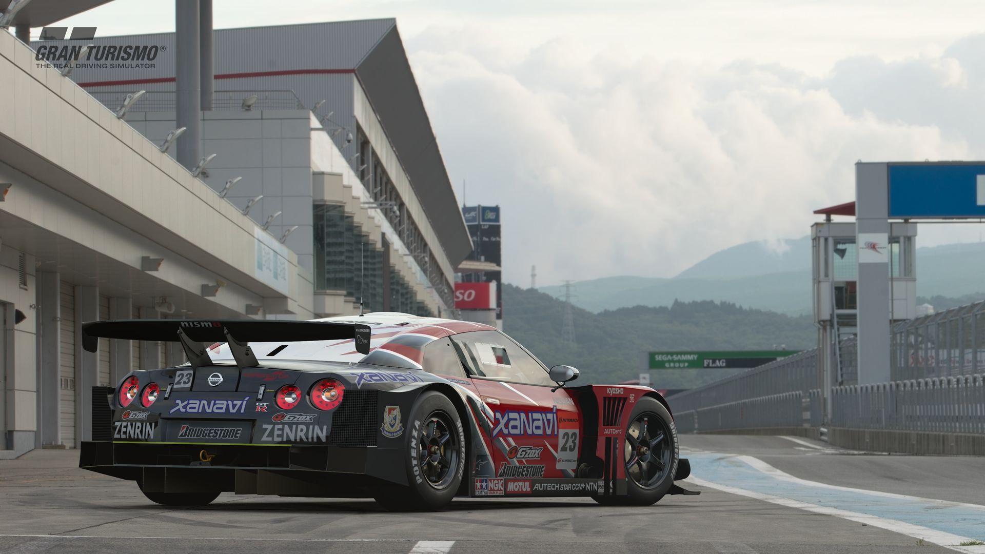 Gran Turismo Sport November Update Nissan XANAVI NISMO GT-R '08 (Gr.2) 2