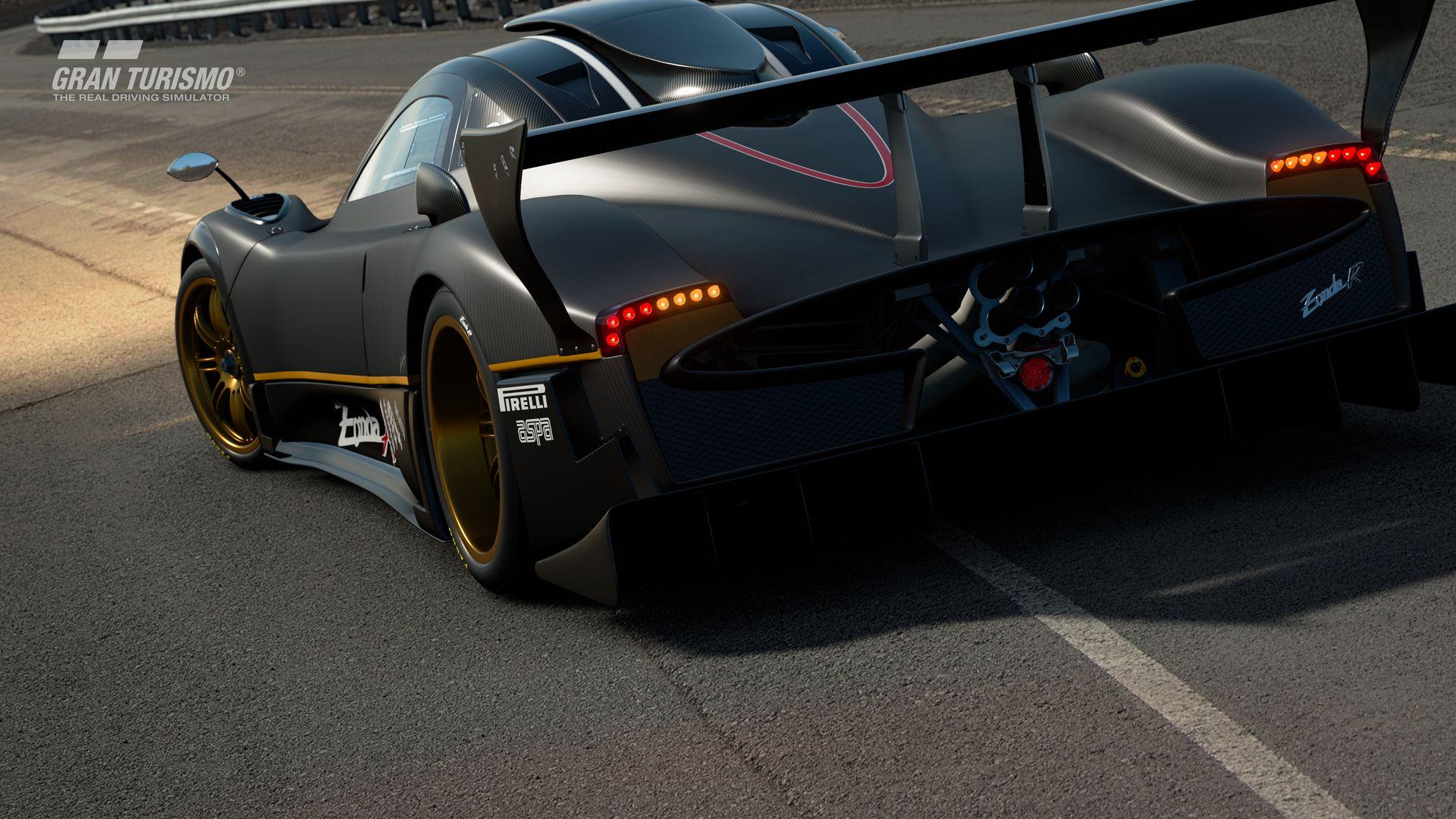 Gran Turismo Sport November Update Pagani Zonda R '09 (Gr.X) 2