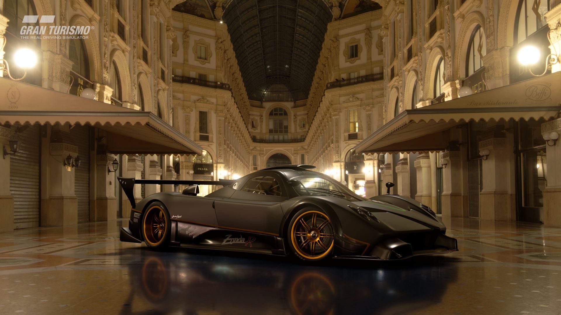 Gran Turismo Sport November Update Pagani Zonda R '09 (Gr.X) 3